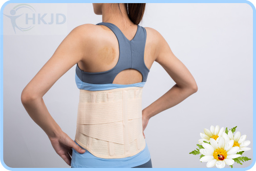 Women Medical Lower Back Brace Posture Correction Waist Belt Spine Support Belts Breathable Lumbar Corset