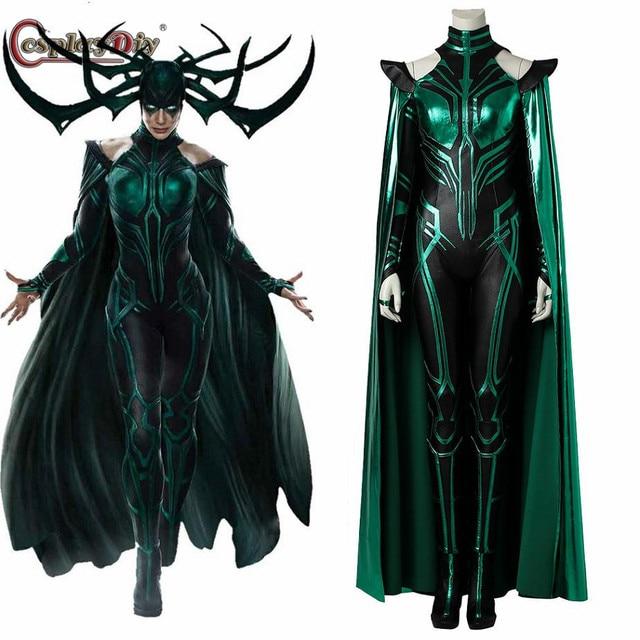 Cosplaydiy Thor 3 Ragnarok Trailer Hela Cosplay Costume