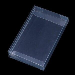 Image 2 - 10 יח\חבילה ברור שקוף עגלות תיבת מקרה עבור Nintend N64 מחסנית מ.ח. מגיני