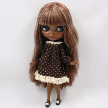 Factory Neo Blythe Dolls Red Blonde Hair Jointed Body 30cm