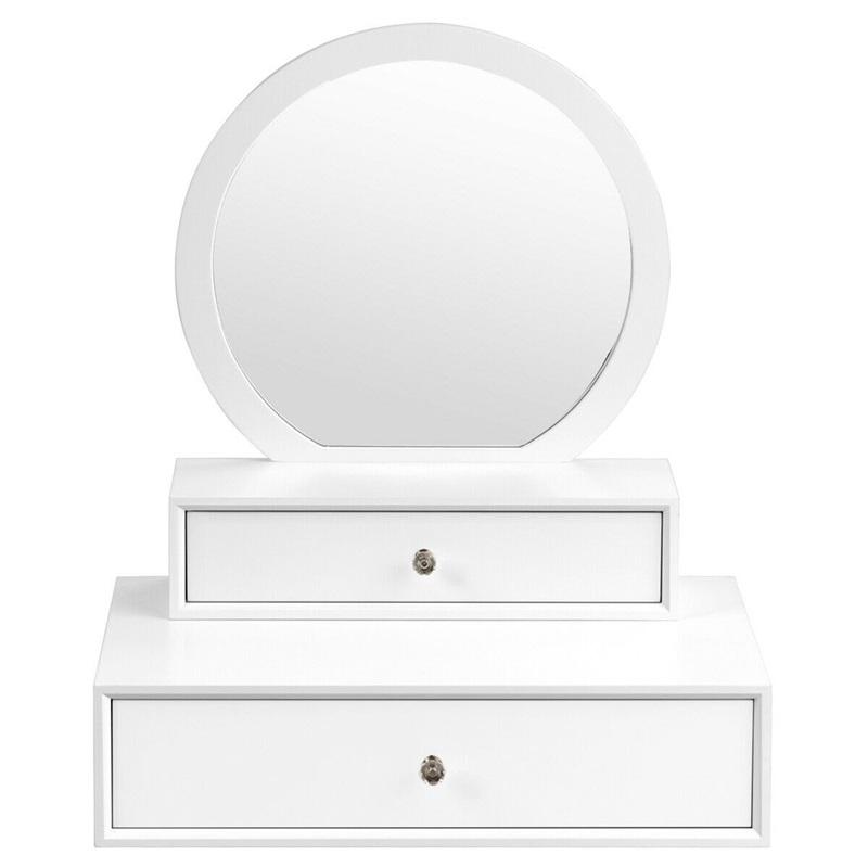 Bedroom Furniture White Makeup Dresser