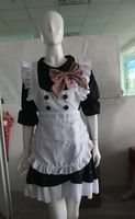 instyles free shipping walsonstyles plus size Sexy French Maid Cosplay Maid Costume Halloween Costumes