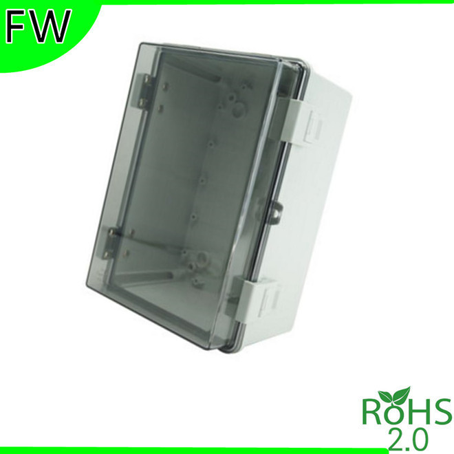 pc transparent cover material plastic distribution box electrical rh aliexpress com wiring box cover Wire Inbox