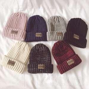 49a1b0910b2 arutinbarry Female Winter Hats Caps Girl Women Knit Beanies
