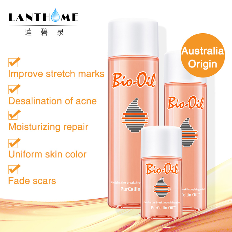 Bio Oil Scars And Stretch Marks Remover 200ml Liquid Purcellin Oil Acne Scar Treatments Uneven Skin Tone Ageing Skin Massage Oil