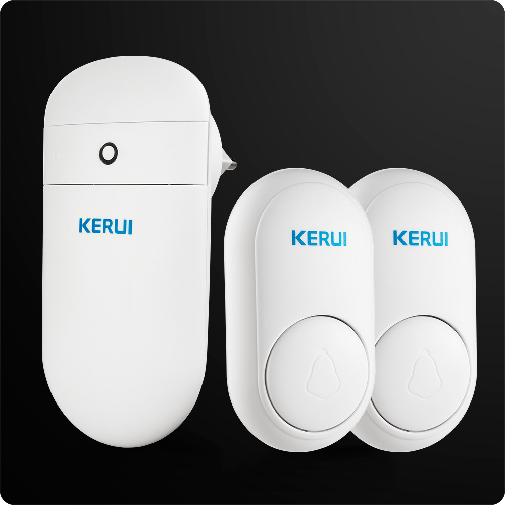 KERUI M518 Wireless Doorbell Home Smart Electronic Remote Control Long Distance No Battery Volume Adjustment Various Songs