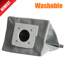New washable vacuum cleaner bags hepa filter dust bag cleaner bags For LG V-743RH V-2800RH V-943HAR V-2800RH V-2810