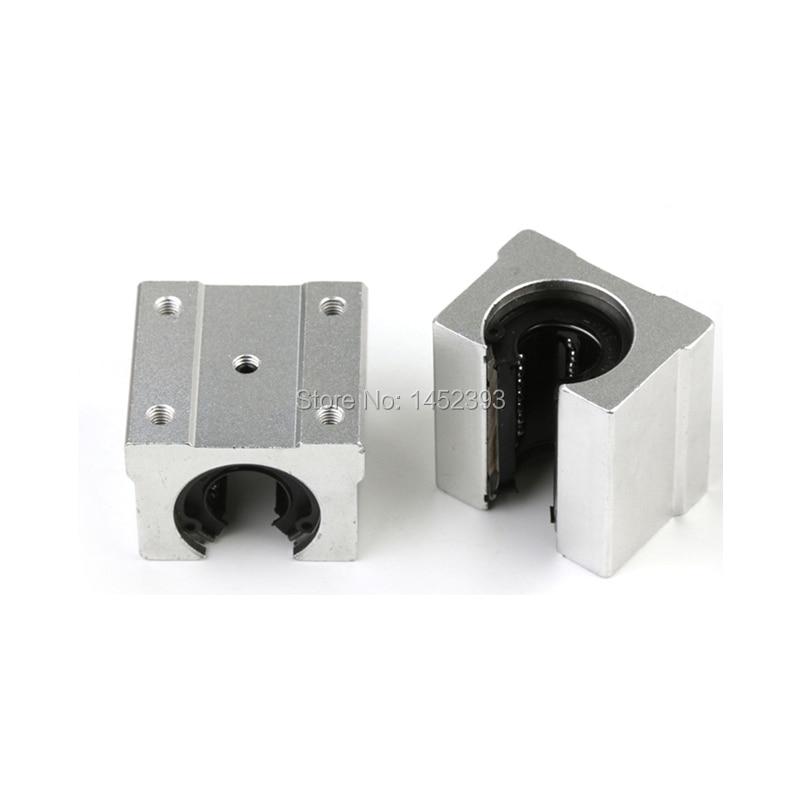 SBR25UU 25mm CNC Router Linear Ball Bearing Block