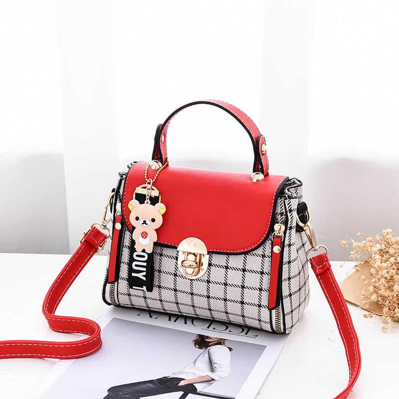 Nowy PU cukierki kolor torebka kobieca do noszenia na ukos miękki materiał damska luksusowa torba na co dzień moda podróżna jakość Messenger B