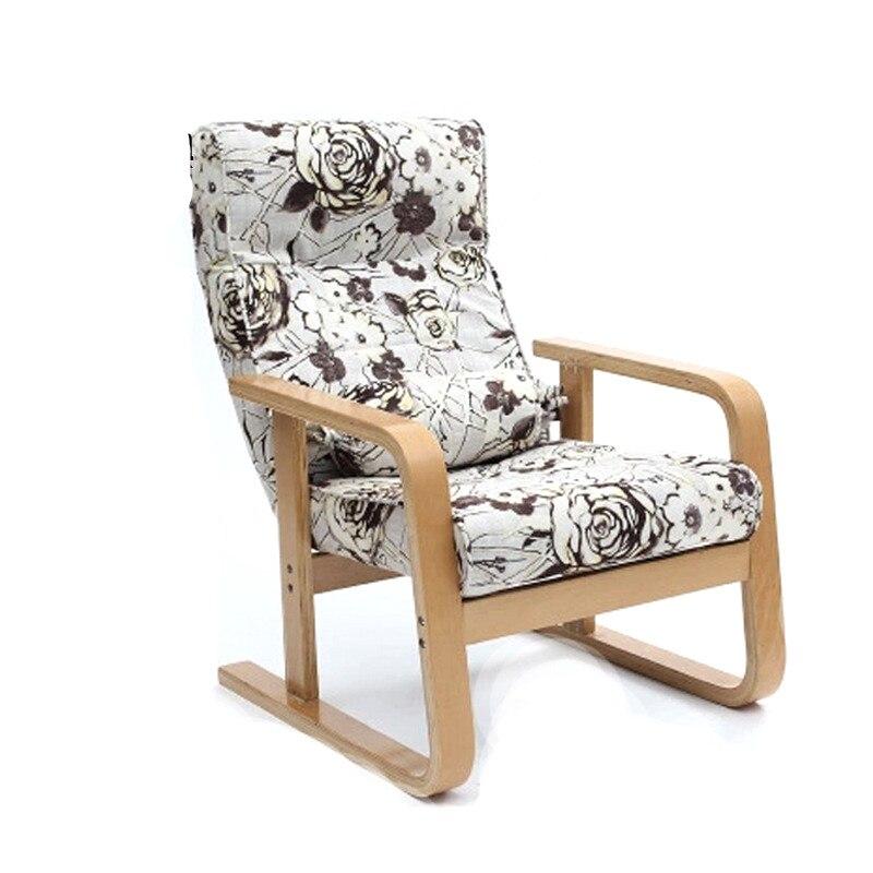 Специальное предложение погремушка дерево компьютерный стул диван стул отдыха удобные татами кресла гостиная ленивый диван-кресло