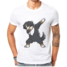 New Brand Hot Sale Tees Funny Bulldog Printed Men T-Shirt Top Quality Cotton Hip Hop Short Sleeve Fashion T Shirt Men Tshirts new tot sale plus size t shirt men gradient color short sleeve printed funny t shirts summer fashion hip hop men tee shirt top
