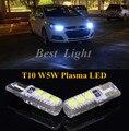2 pcs Canbus T10 W5W 194 168 Plasma LED Lado Marcador Lâmpadas Luz de Estacionamento Para Chevrolet Cruze 2014 2013 2012 2011