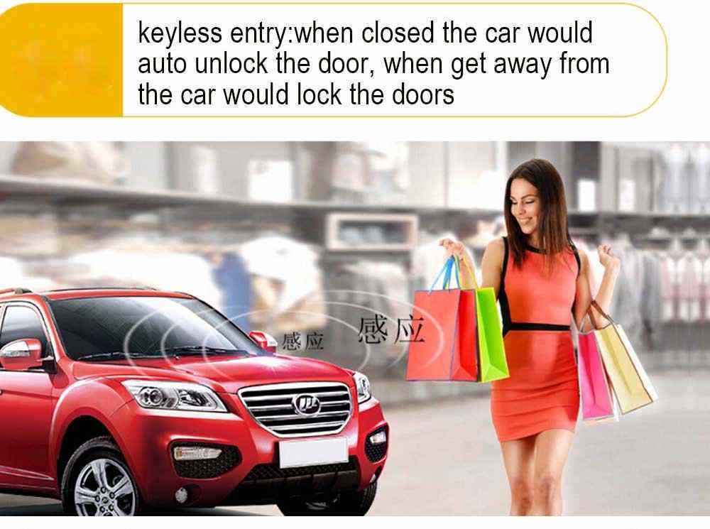 Para toyota início remoto keyless entrada sistema de alarme do carro remoto empurrar o botão do motor do carro remoto pke start stop central travamento