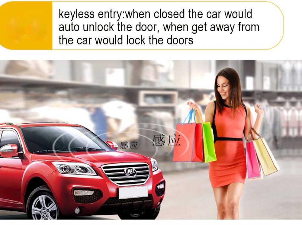 Pour Toyota démarrage à distance système d'alarme de voiture sans clé télécommande bouton de moteur de voiture à distance PKE démarrage arrêt verrouillage Central - 2