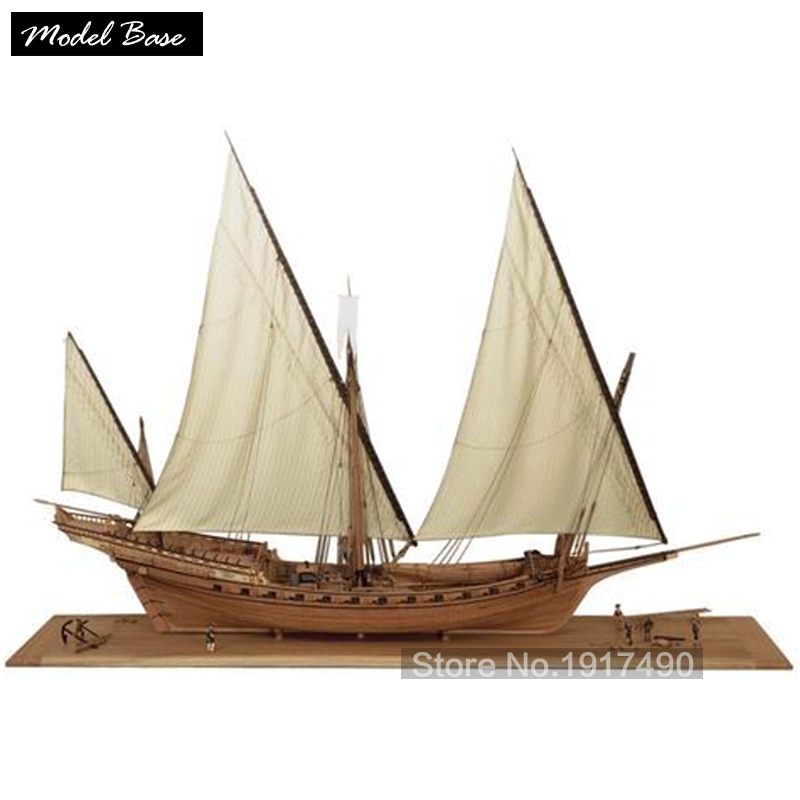 Wooden Ship Models Kits 3d Laser Cut Scale 1/48 Model-Ship-Assembly Diy Educational Train Hobby Le Requin1750 Museum-Level Model