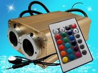 24key IR 16*2 Watt doppel loch LED RGB licht motor  AC100 240V eingang-in RGB-Controller aus Licht & Beleuchtung bei