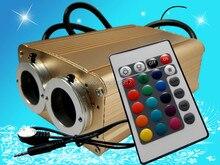 24key ИК 16*2 Вт двойное отверстие LED RGB света двигателя, AC100-240V вход