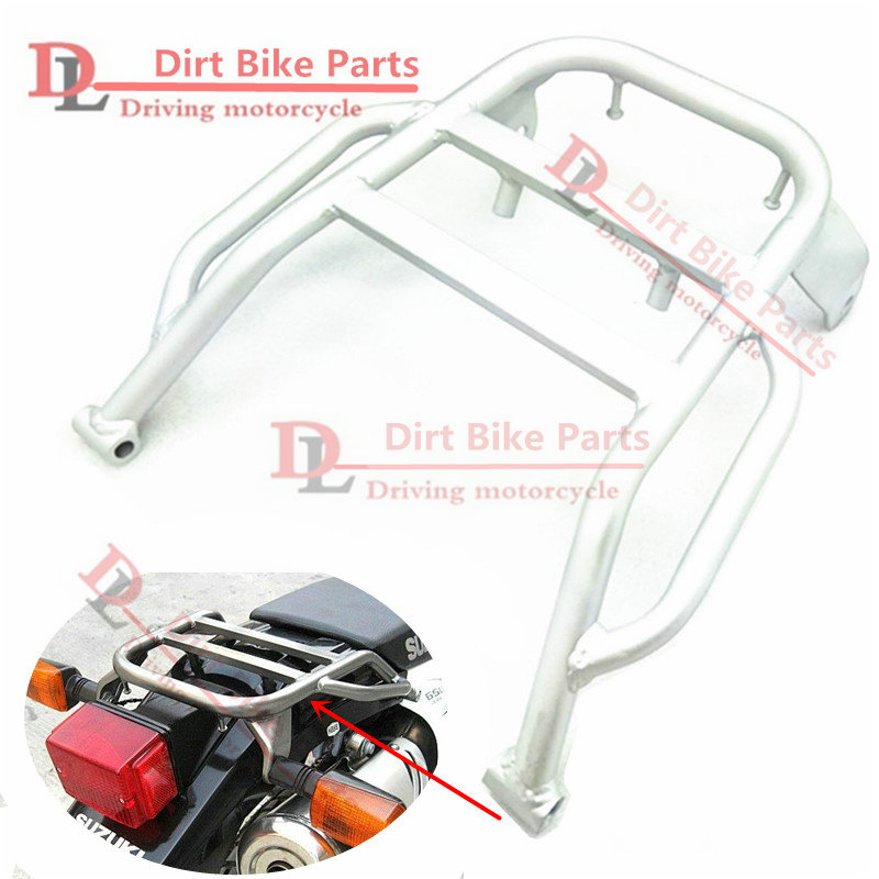 DR650 Motorcycle Rear Luggage Stock Holder Rack Shelf Bracket For Suzuki DR 650 SE 2 color Bracket blackvue dr650 s 1ch