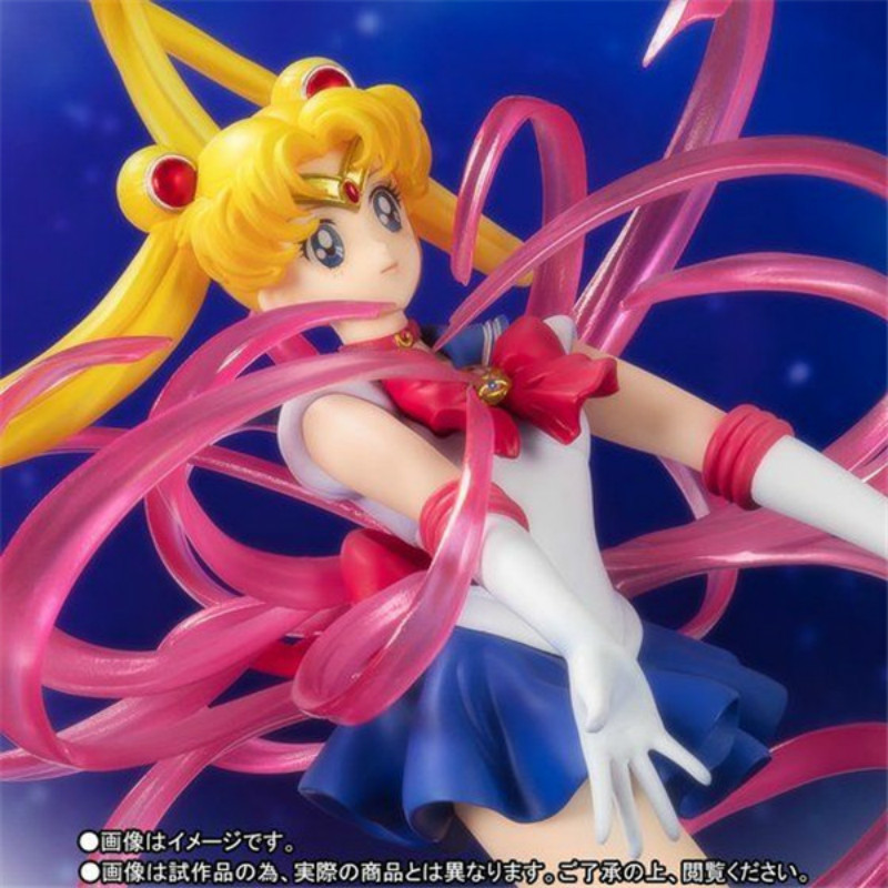 Figuarts Zero Chouette Anime Sailor Moon Crystal Tsukino Usagi Pretty Guardian PVC Action Figure Collection Model Toy Doll Gifts anime one piece figuarts zero boa hancock despise japan anime pvc action figure resin collection model doll toy gifts cosplay