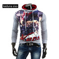 New Europe Hip Hop Men's Autumn pullover 3D print Sweatshirts Hoodies assassins creed Fleece Hoodie Slim Fashion Coat Wholesale