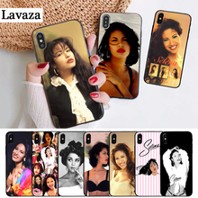 Lavaza selena quintanilla Customer High Quality Silicone Case for iPhone 5 5S 6 6S Plus 7 8 11 Pro X XS Max XR