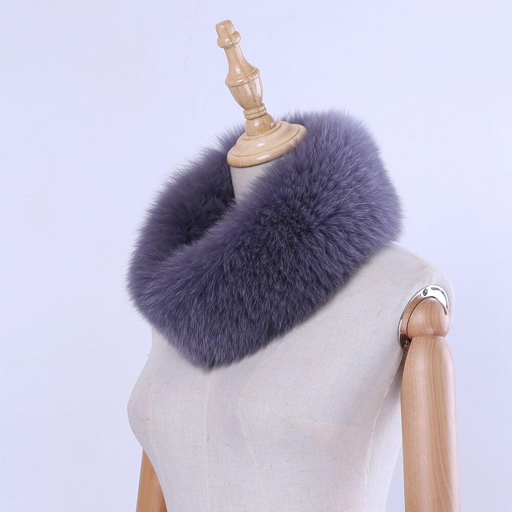 2019 automne hiver femmes fourrure bandeau réel renard fourrure écharpe chaud oreille protecter tête warps véritable fourrure infini anneau écharpes cowl