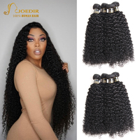 Joedir Hair Mongolian Afro Kinky Curly Hair Bundles Human Hair Weave Bundles Short Curly Hair Bundles Can Made To Wig Non Remy