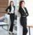 Plus Size Outono e Inverno Profissional OL Formais Estilos Terninhos Para Mulheres Jaquetas E Calças de Negócios Calças Das Senhoras Conjuntos