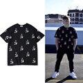 2017 Gosha Rubchinskiy Camiseta Foice eo Martelo Homens Impressos Mulheres Thrasher ASSC Justin Bieber Gosha Rubchinskiy Tshirts Homme