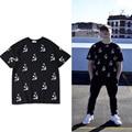 2017 Gosha Rubchinskiy Camiseta Hoz y el Martillo Impreso Hombres Mujeres Thrasher ASSC Justin Bieber Gosha Rubchinskiy Homme Camisetas