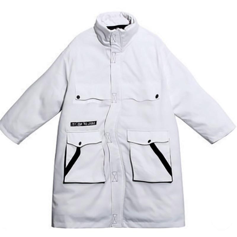 Longue Rembourré 2019 Coton D'hiver Froid Manteau Surdimensionné Arrivée Veste Parka Femme White Nouvelle Contre Femmes Hiver Le Vêtements C78wdCx5q