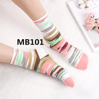 2018 new arrive fashion Women socks high quality 10pcs/set MB101