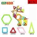 60 unids/lote clásico diseñador de modelos de plástico bloques de construcción 3d diy ladrillos educativos de aprendizaje bloques magnéticos niños juguetes para niños