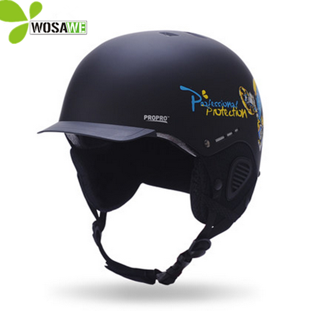 PROPRO winter Integrally-molded ski helmets Skating Skateboard climbing sports safety caps cartoon sportswear Skiing helmet arrive in 18 39 days 2014 hot sale factory supply integrally molded adult ski sports helmets skateboard skiing helmets