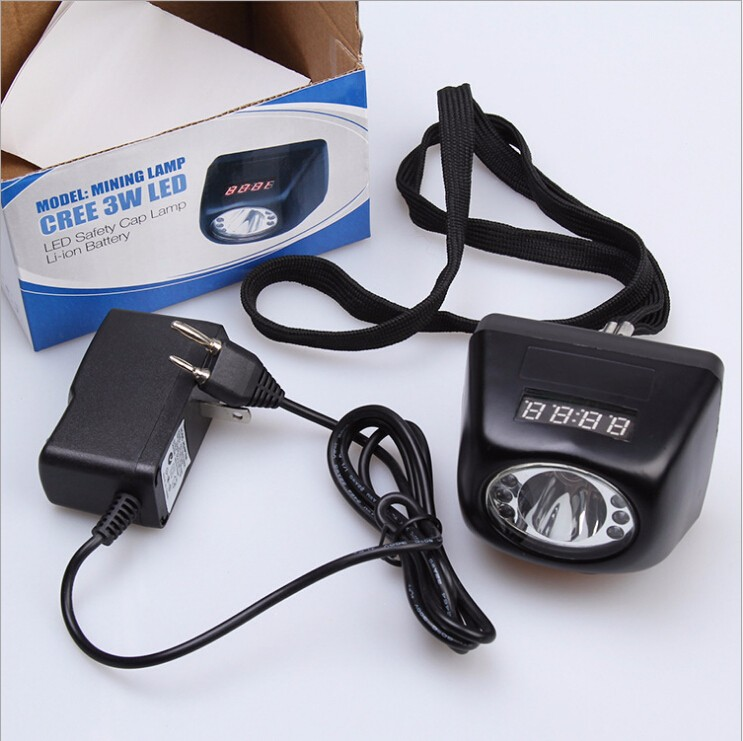 3W LED LED 18HOURS 4500-10000LUX USA CREE headlamp cordless mining head light+ DHL FedEx TNT FREE SHIPPING лампа светодиодная e27 10w 2700k груша матовая 23210