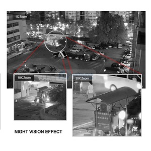 Image 4 - 1080P PTZ Dome IP Camera 30X ZOOM Outdoor Onvif Waterproof 4MP 5MP Mini Speed Dome Camera H.264 IR 50M POE CCTV Security Camera