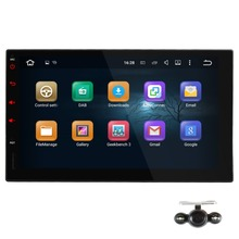 Universal 7inch 2 din Android 5.1 Car Stereo Audio Radio with Parrot Bluetooth DAB+ GPS Navigation Headunit NO Car DVD Player