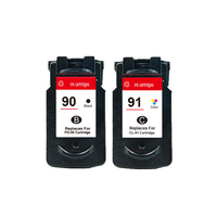 PG 90 CL 91 Ink Cartridge For Canon PG90 CL91 PIXMA IP2200 MP150 MP160 MP170 MP180