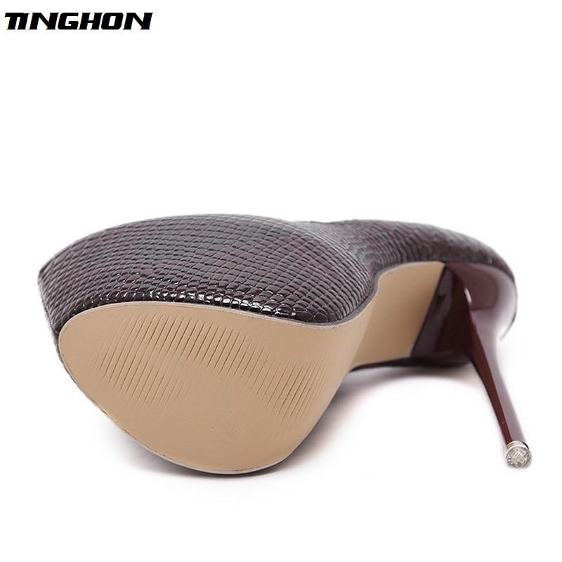 Eilyken-New-Snakeskin-Pumps-16-CM-high-With-Club-high-heels-Sexy-high-heeled-shoes-Round (1)