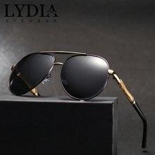 fc25d15f4becb Homens Clássicos de alta Qualidade UV400 Polarizada Óculos de Sol Masculino  Óculos de Condução Óculos de