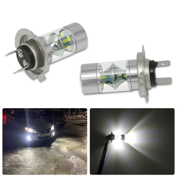 2Pcs Car Bright Fog Light Bulb H7 H4 H8 HB3 Led Head Lamp For Bmw E46 E60 E39 F10 F30 F20 E87 E70 E91 M E90 G30 X1 X3 X5 Series image