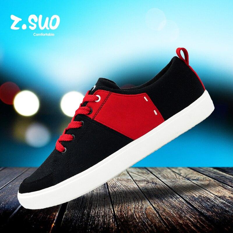 ZSUO ZS156 letnie oddychające tenisówki. Męskie popularne na co dzień buty na koturnie, modne bawełniane robione buty w Męskie nieformalne buty od Buty na  Grupa 1