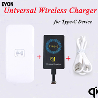TI Chipset Type C Qi Wireless Charger Charging Receiver Pad For HUAWEI P9 Xiaomi Mi5 4S
