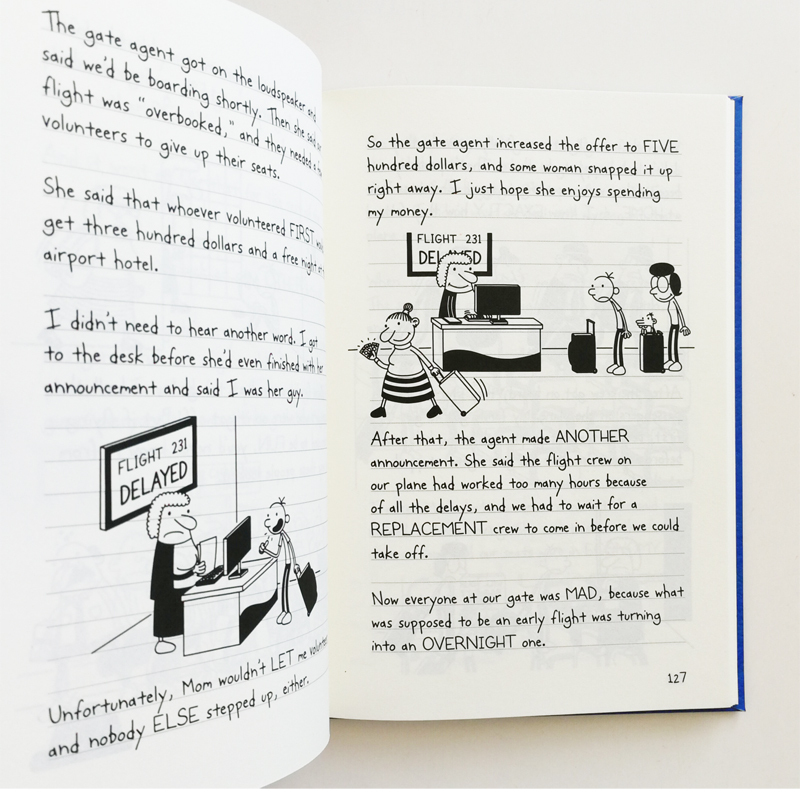 Diary Of A Wimpy Kid 23 24 The Getaway Simplified Chinese And
