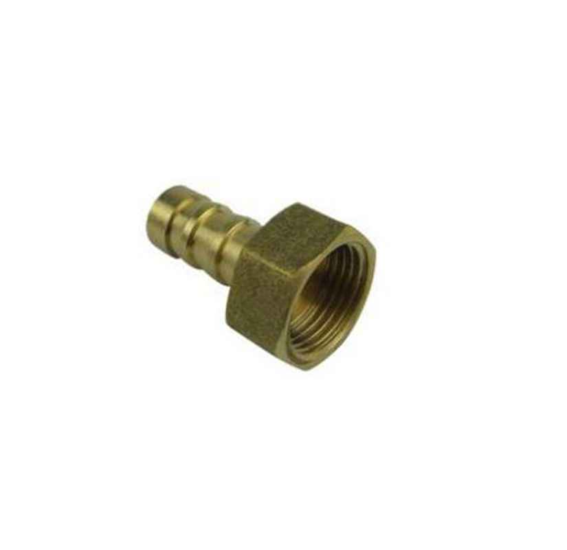 6mm to 1/8'' BSP Female Thread Copper Pagoda Joint Adapter PCF6-01 Brass Pipe Connector Quick Plug for Gas Air Tube