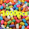 wholesale 1000pcs Starch Miou Kids Colorful Building Blocks Magic Corn Plasticine Children Child Toy kernels Xmas free shipping