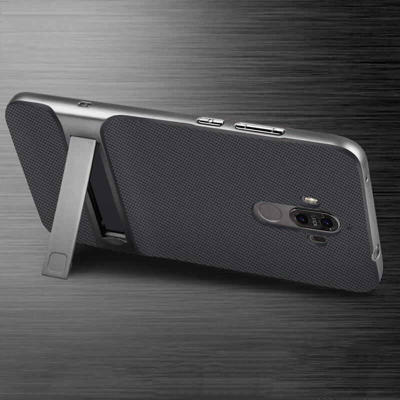 For Huawei Mate 9 Case 5.9 inch TPU + PC 2 in 1 Phone Cases Ultra Thin Phone Stand Cove For Huawei Mate 9 Mate9 Case