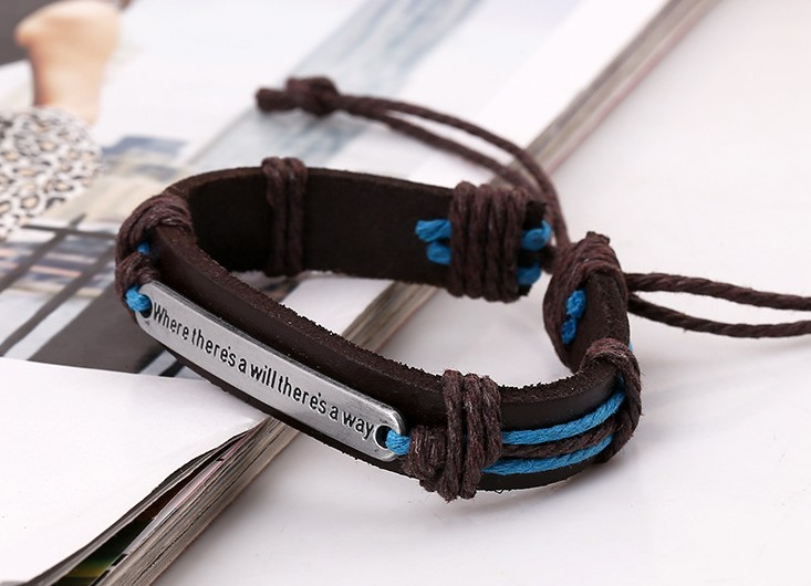 bracelets jewelry 100% Brand New Bracelet Charm Genuine Leather Bracelets Man Bracelets for Women Jewelry
