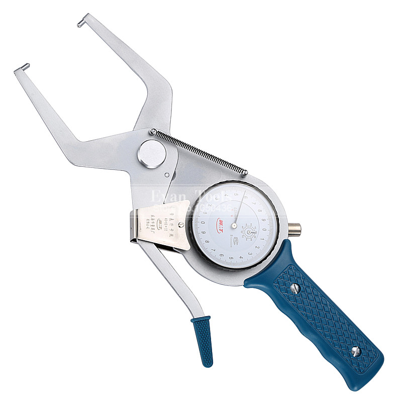 Outside Dial Caliper Gauges 40-60*55mm/0.01mm Metric  Shockproof Carbide Points Micrometer Measuring Tools  цены