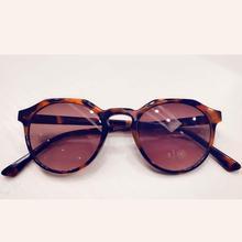 New fashionable round womens sunglasses, color frames, mirror lenses, new mercury glasses, mens coated Sunglasses